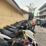 Puluhan Motor Bodong Diamankan Jatanras Polda Sumsel