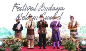 Pembukaan Festival Budaya Melayu Sumsel Tahun 2021