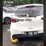 Salah Parkir Mobil di Kampus Ini Didenda Rp2 Juta, Netizen: Bayar Seribu Aja Sering Kabur