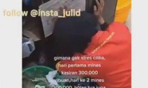 VIDEO! Kasir Swalayan Ini Stres Kena Minus Rp500 Ribu Selama 2 Hari, Netizen: Berat ya Jadi Kasir